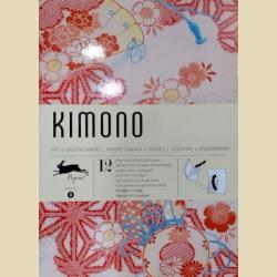 Упаковочная бумага Набор 03 Кимоно / Kimono: Gift and creative paper book Vol. 3