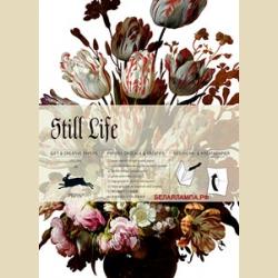 Упаковочная бумага Набор 59 Натюрморт / Still Life: Gift and creative paper book Vol 59