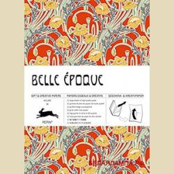 Упаковочная бумага Набор 66 Прекрасная эпоха / Belle Epoque: Gift and creative paper book Vol. 66