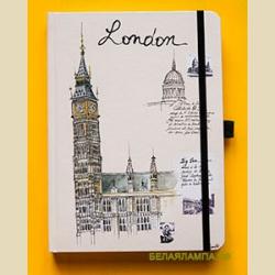 16 х 22 см  Дневник путешествия  Лондон