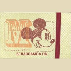 GreenStickyNotes  Mickey retro / набор стикеров на резинке Микки ретро