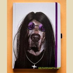 Забавные мордашки Металл Оззи 16 х 22 см / Metal: Large Famous Faces Journal