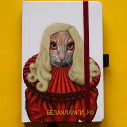 Забавные мордашки Покер Леди Гага 10 х 15 см / Poker: Small Famous Faces Journal