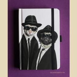 Забавные мордашки Братья 10 х 15 см / Brothers: Small Famous Faces Journal