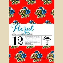 Бумага упаковочная Цветочный дизайн / Floral: Gift and creative paper book