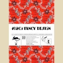 Упаковочная бумага Набор 34 Двадцатые годы / 1920s Fancy Designs : Gift and creative paper book Vol.34