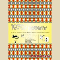 Упаковочная бумага Набор 54 Семидесятые / 1970s Patterns: Gift and creative paper book Vol 54