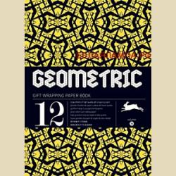 Упаковочная бумага Набор 16 Геометрия / Geometric: Gift and creative paper book Vol.16