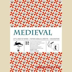 Бумага упаковочная (подарочная бумага) Средневековье / Medieval: Gift and creative paper book