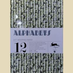 Бумага упаковочная (подарочная бумага) Алфавиты / Alphabets: Gift and creative paper book