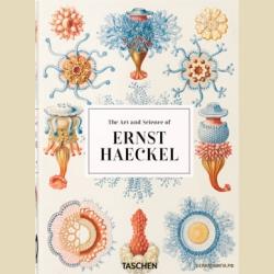 Геккель Эрнст Искусство и наука Красота форм в природе Увеличенный формат / Ernst Haeckel The Art and Science of Ernst Haeckel - 40th Anniversary Edition