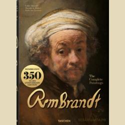 РЕМБРАНДТ ПОЛНОЕ СОБРАНИЕ ЖИВОПИСИ ОЧЕНЬ БОЛЬШОЙ АЛЬБОМ / Rembrandt  The Complete Paintings XXL