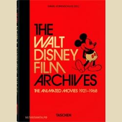 Дисней Архив фильмов Уолта Диснея. Мультфильмы 1921–1968. / The Walt Disney Film Archives. The Animated Movies 1921–1968. 40th Anniversary Edition