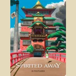 Миядзаки Студия Гибли Унесённые призраками (Унесенные призраками). Набор из 30 коллекционных открыток / Spirited Away: 30 Collectible Postcards Studio Ghibl